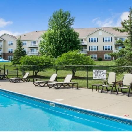 Resort Style Pool | Apartments in Kenosha, WI | Riverwood Apartments