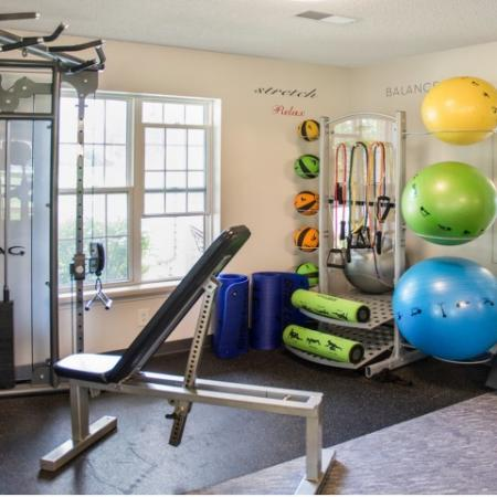 State-of-the-Art Fitness Center | Apartment Homes in Kenosha, WI | Riverwood Apartments