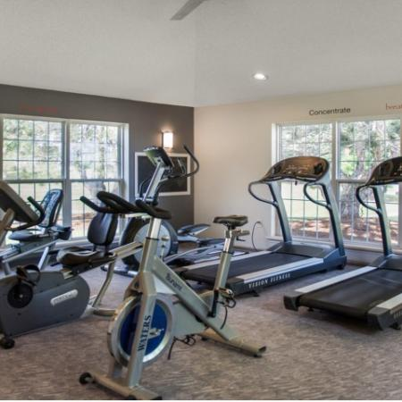 Resident Fitness Center   Apartments Kenosha, WI   Riverwood Apartments