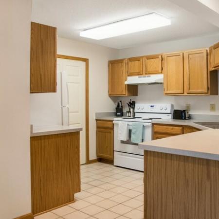 Spacious Kitchen   Apartments for rent in Kenosha, WI   Riverwood Apartments