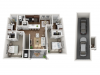 Floor Plan 2F | Seasons at Orchard Hills | Apartments in Oak Creek, WI