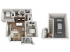 Floor Plan 2J | Seasons at Orchard Hills | Apartments in Oak Creek, WI