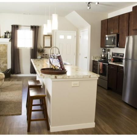 State-of-the-Art Kitchen | Grafton WI Apartment Homes | High Bluff Townhomes