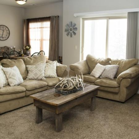 Elegant Living Room | Apartments for rent in Grafton, WI | High Bluff Townhomes
