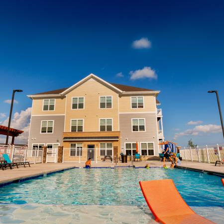 Resort Style Pool | Apartments in Fitchburg, WI | 1 Glenn Place