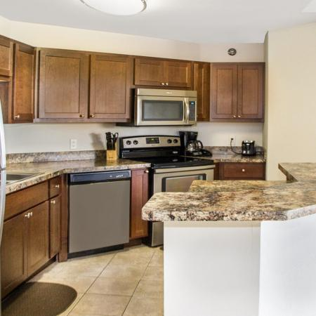 Modern Kitchen   Fitchburg WI Apartment For Rent  
