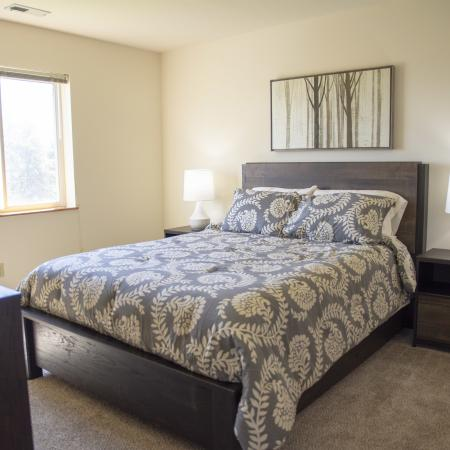 Roomy Bedroom | Pewaukee WI Apartment For Rent |