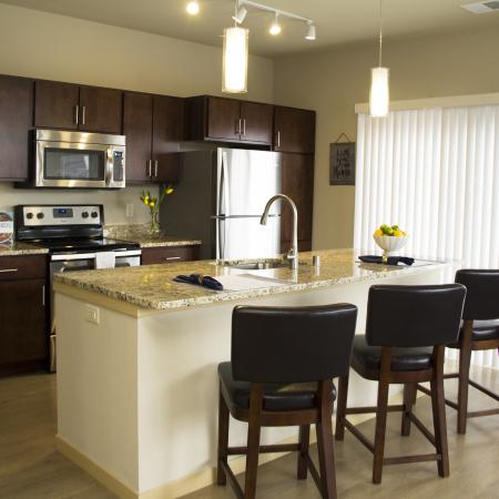 Spacious Kitchen | 2 Bedroom Apartments in Menomonee Falls WI | The Junction