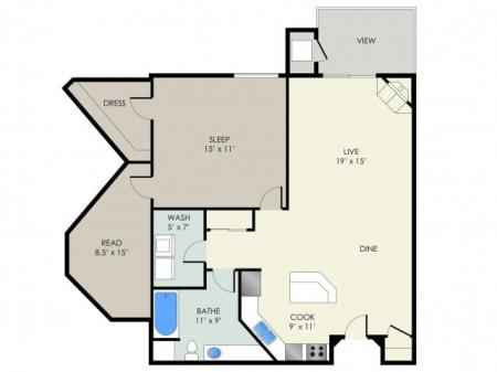 The Chamberlain Floor Plan