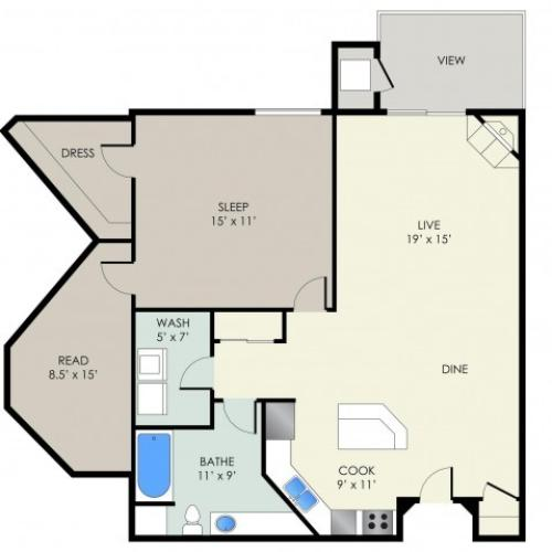 The Chamberlain Floor Plan