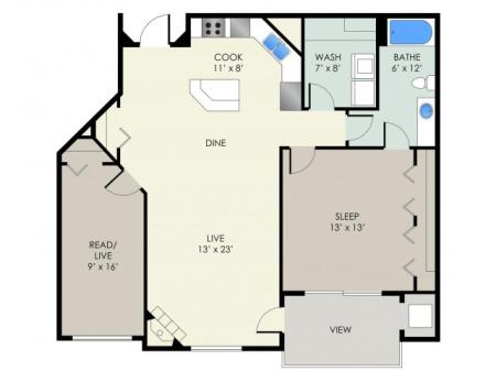 The Bascom Floor Plan