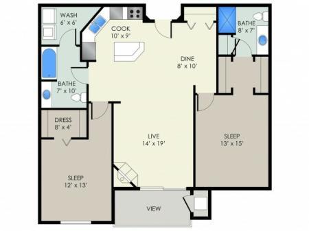 The Peterson Floor Plan
