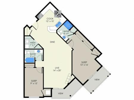 The Terrace Floor Plan