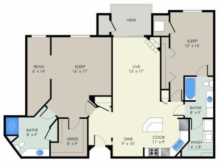 The Observatory Floor Plan