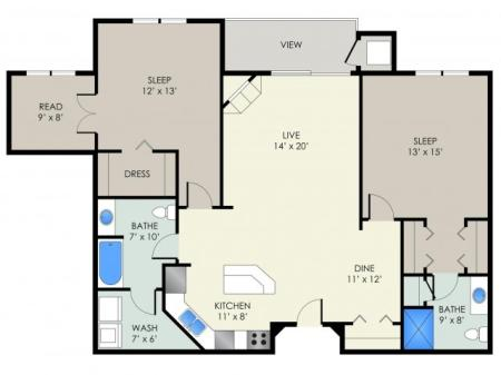 The Elvehjem Floor Plan
