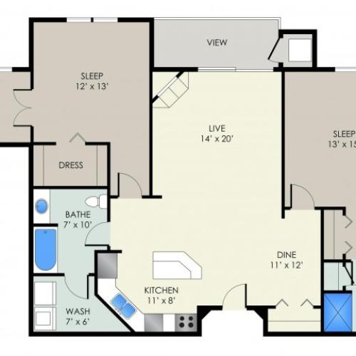 The Elvehjem Floor Plan
