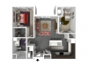 Floor Plan C2 | Forte at 84 South | Apartments in Greenfield, WI
