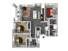 Floor Plan E2 | Forte at 84 South | Apartments in Greenfield, WI