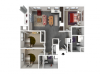 Floor Plan E1 | Forte at 84 South | Apartments in Greenfield, WI