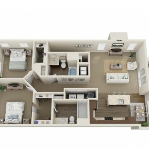 3D Floorplan D