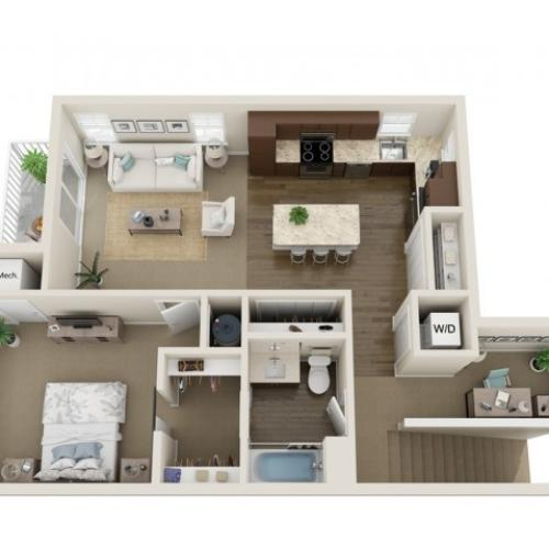 3D Floorplan A2