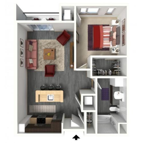 B2 | 1505 Apartments & Townhomes