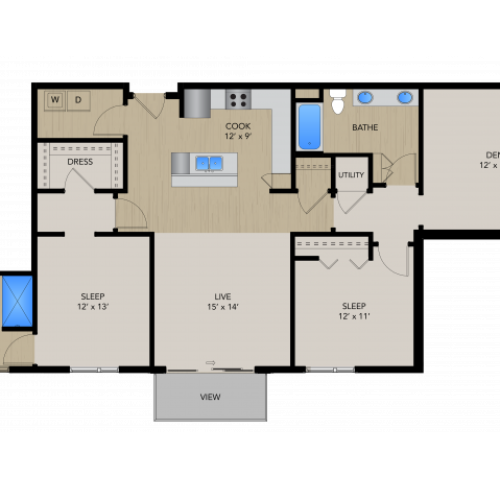 2F | 1505 Apartments & Townhomes