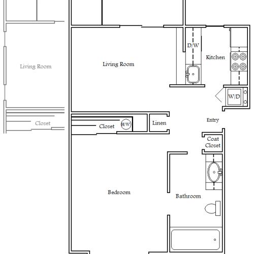 Daffodil - 2 Bed Apartment - Garden Villa