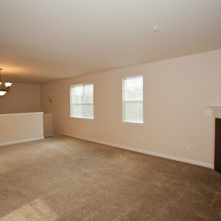 One Bedroom Apartments in Tacoma   Living Room