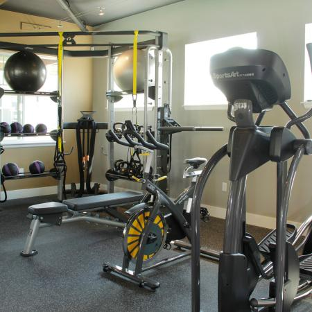 State-of-the-Art Fitness Center | Apartment Homes in Fife, WA | Port Landing at Fife