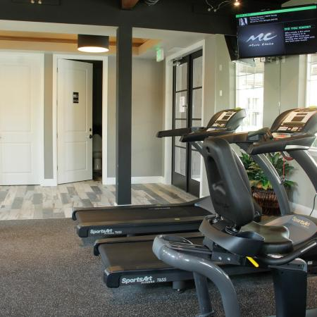 Cutting Edge Fitness Center | Apartments Homes for rent in Fife, WA | Port Landing at Fife