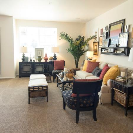 Luxurious Living Room   Apartment Homes in Fife, WA   Port Landing at Fife
