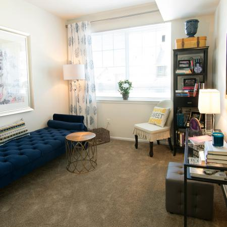Spacious Living Area   Apartments Homes for rent in Fife, WA   Port Landing at Fife