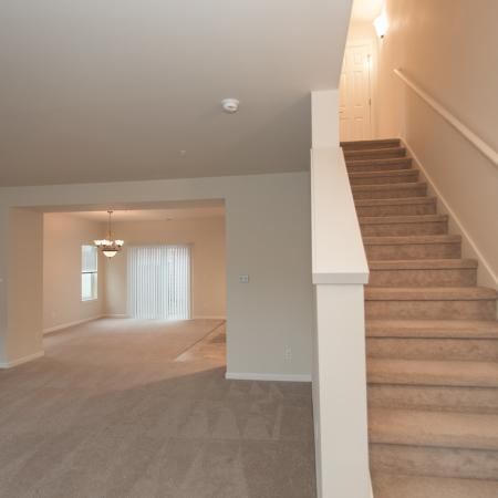 Townhome stairs