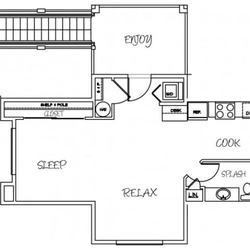 Floor Plan 1 | Silver Creek