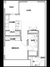 Floor Plan 1 | Luxury Apartments in Tacoma | 5100 Summit