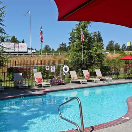 Apartment Community Pool | Parkland Tacoma WA Apartments For Rent |Westminster Towers Apartments
