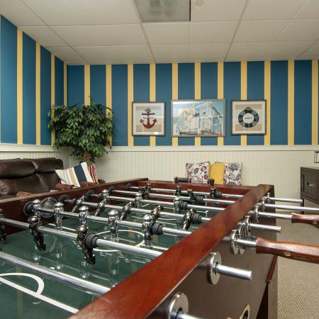 Community Game Room | Apartments for rent in Tacome, WA | Nantucket Gate