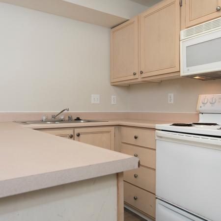 Spacious Kitchen | Apartments for rent in Tacome, WA | Nantucket Gate