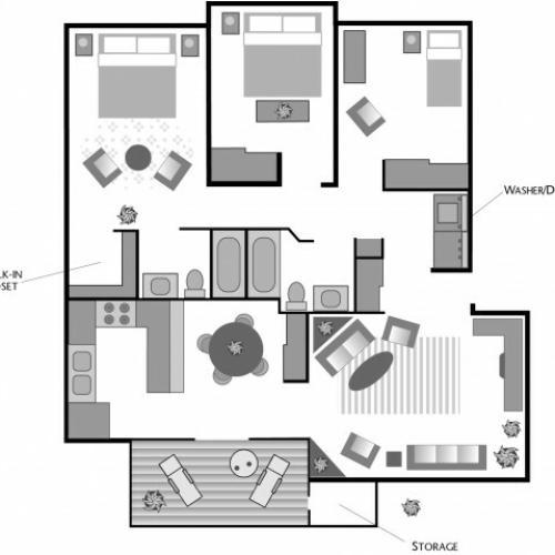 3x2 Floorplan