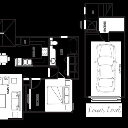 Port Landing at Fife, 1 bedroom w/ garage