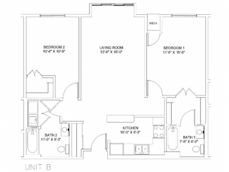 B (Full unit waitlist, roommate matches avail.)