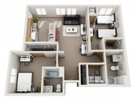 E (Full unit waitlist, roommate matches avail.)
