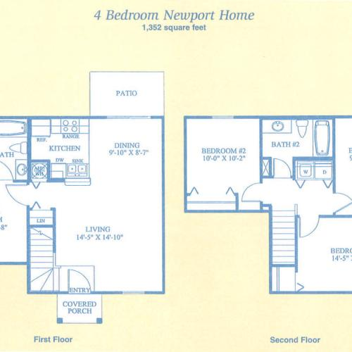 Newport Apartments Tampa: 3 Bed / 2 BathApartment In Tampa FL