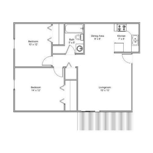 One Bedroom Apartments Springfield Mo: 2 Bed / 1.5 Bath Apartment In Springfield MO