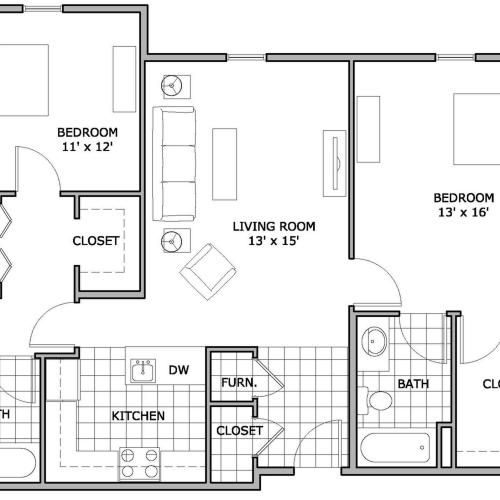 3 bedroom | Apartment | The Abbey