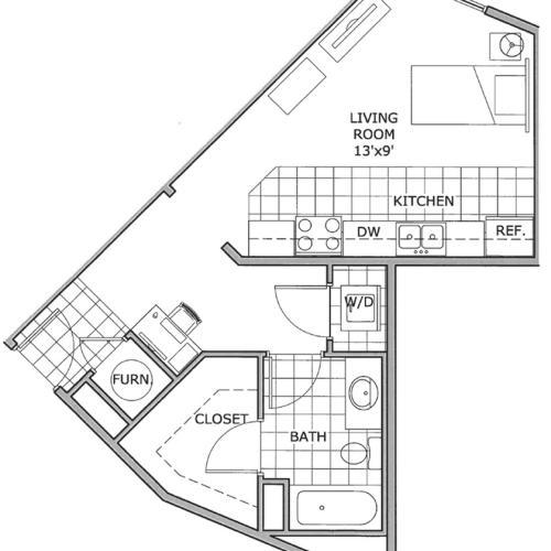 studio apartments | Springfield, MO
