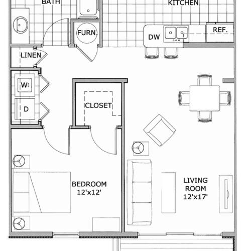 one bedroom apartment | suite | furnished suites