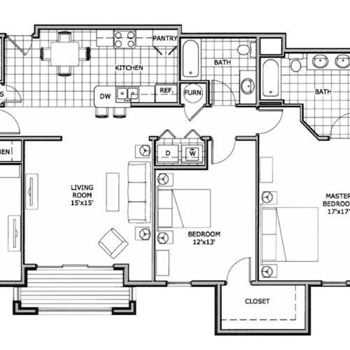 3 bedroom apartment | Springfield, MO