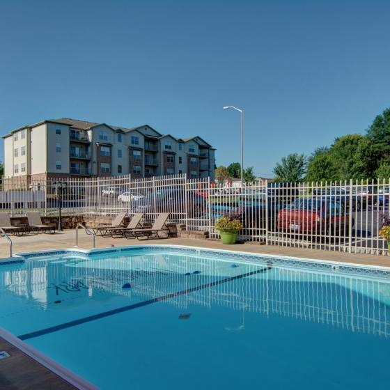 Marion Park, amenity, outdoor swimming pool, 4 story apartment building